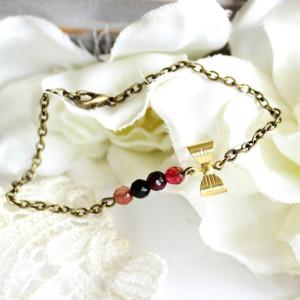 Bracelet noeud jade