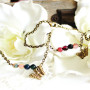 Bracelet papillon vintage