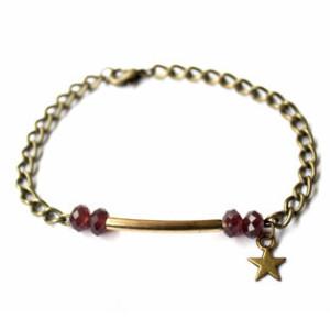 Bracelet quartz violet