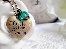 Collier MY HEART BELONGS TO DADDY – SWAROVSKI