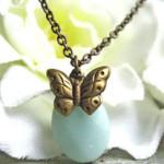 Collier Vintage papillon