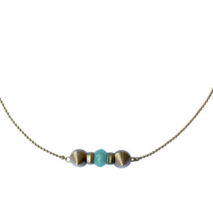 Collier rock me turquoise chic