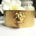 bracelet lion Vintage