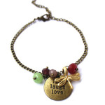 Bracelet Libellule - live love laugh