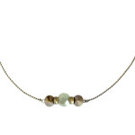 collier rock me aventurine