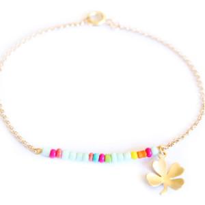 Bijoux-fantaisie-Bracelet-trefle-été-2014
