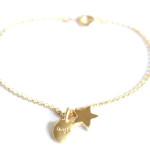bracelet etoile laugh bijoux