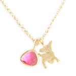 collier-bambi-rose-bijoux-fantaisie. Collier tendance été 2014