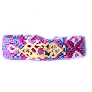 Bracelet Bresilien rose