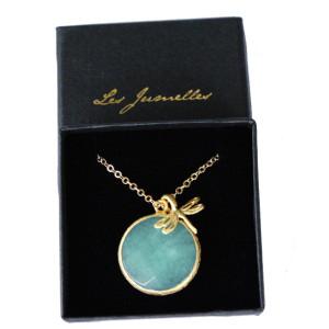 bijoux fantaisie pendentif turquoise