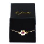 bracelet fantaisie fleur