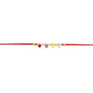 bracelet sophie rouge