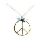collier vintage paix