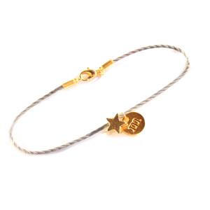 Bracelet personnalisé lettre etoile