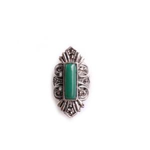 bague style vintage vert