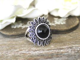 bague vintage bijoux fleur
