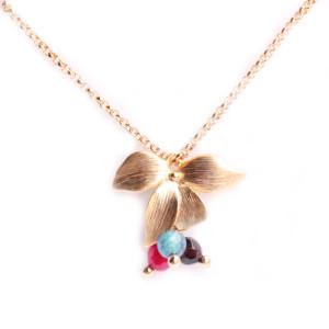 collier fleur amelie