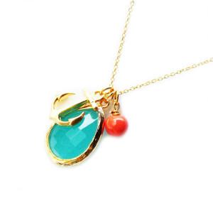 collier cadeau femme Les Jumelles
