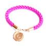 Bracelet personnalisé doré lettre (2)