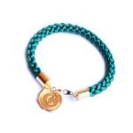 Bracelet personnalisé doré lettre