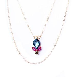 collier fantaisie Swarovski femme