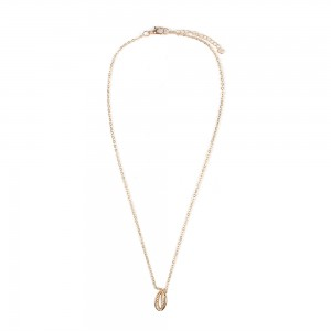 Collier coquillage or pas cher