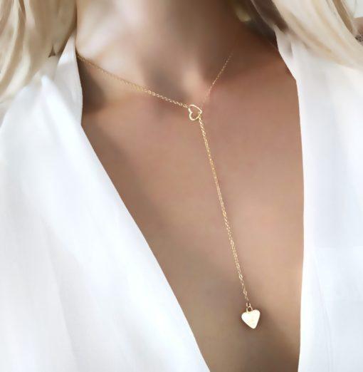 collier cadeau coeur